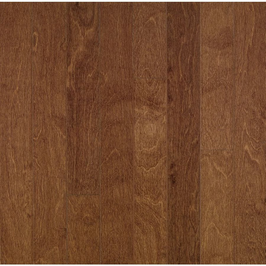Bruce American Exotics 5-in W Prefinished Birch Engineered Hardwood Flooring (Clove)
