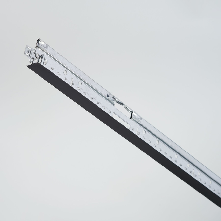 Armstrong Ceilings Prelude Fireguard ID Black 20-Pack 144-in Galvanized Steel Ceiling Grid Main Beam