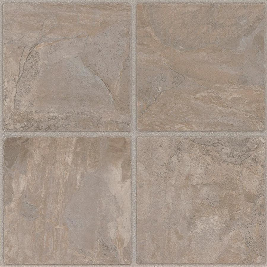 Armstrong flooring 45 piece 12 in x 12 in cliffstone peel and stick vinyl tile