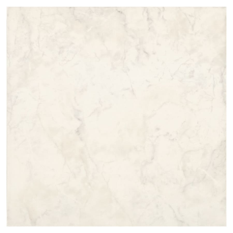 Shop armstrong 13 x 13 perla marble glazed ceramic tile at lowes armstrong 13 x 13 perla marble glazed ceramic tile dailygadgetfo Gallery