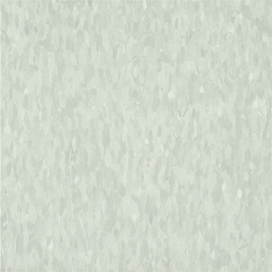 Armstrong Flooring Migrations 45-Piece 12-in X 12-in Ashen Gray Glue (Adhesive) Speckle Commercial VCT Tile