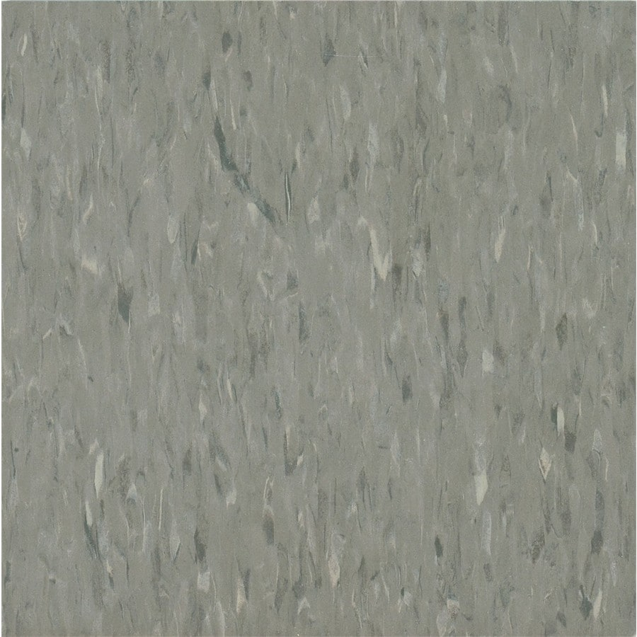Armstrong Flooring Migrations 45-Piece 12-in X 12-in Mushroom Beige Glue (Adhesive) Speckle Commercial VCT Tile
