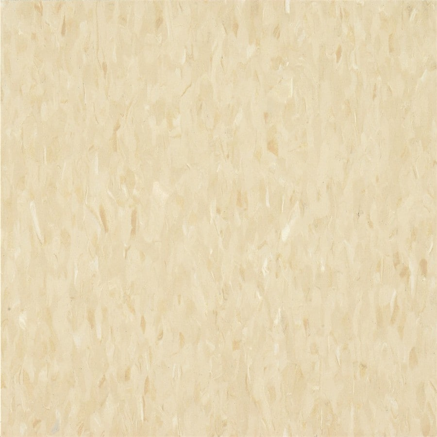 Armstrong Flooring Migrations 45-Piece 12-in X 12-in Sandy Beige Glue (Adhesive) Speckle Commercial VCT Tile