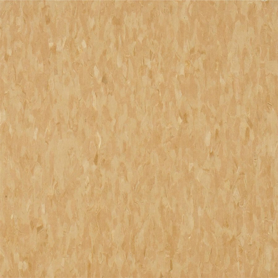 Armstrong Flooring Migrations 45-Piece 12-in X 12-in Golden Sands Glue (Adhesive) Speckle Commercial VCT Tile