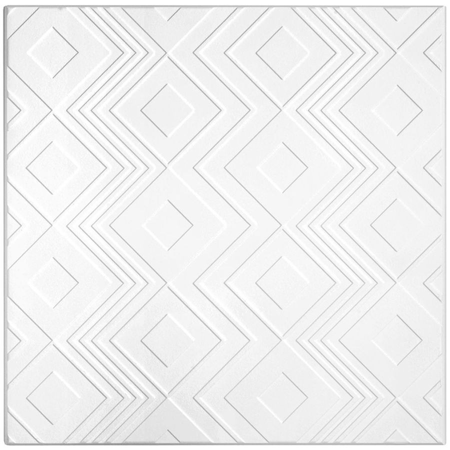 Shop armstrong 6 pack tango homestyle ceiling tile panel common 24 armstrong 6 pack tango homestyle ceiling tile panel common 24 in x dailygadgetfo Image collections
