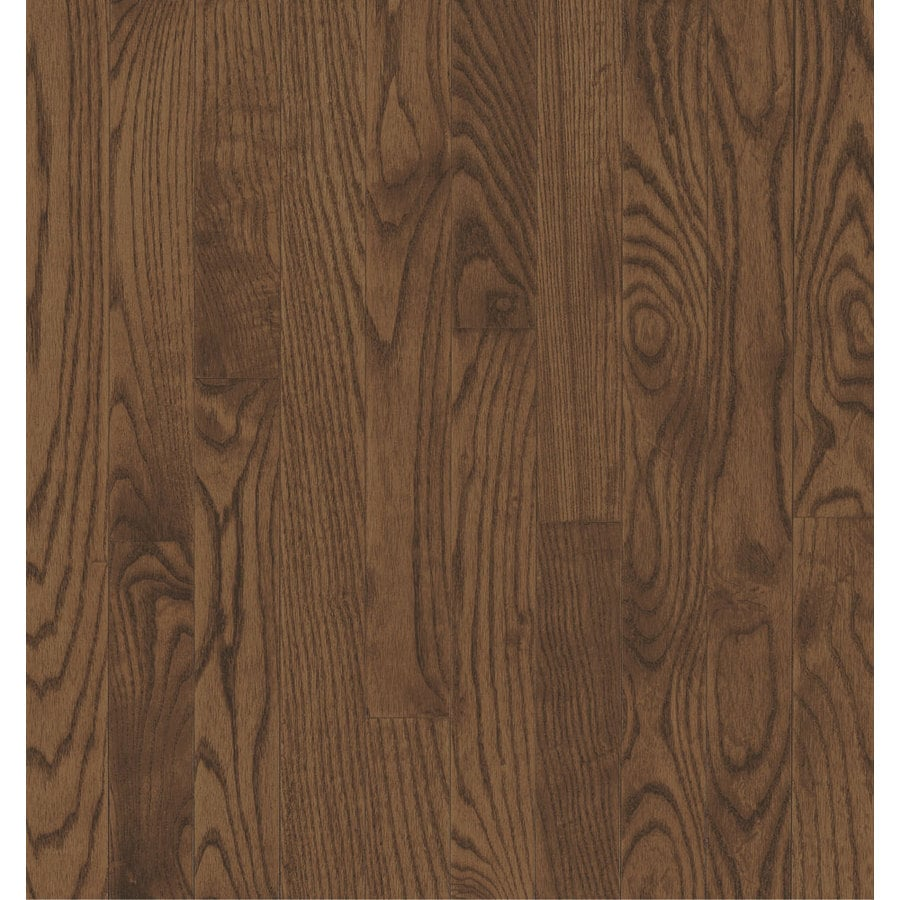 Bruce Locking Smooth Face Gunstock Oak Hardwood Flooring (22-sq ft)