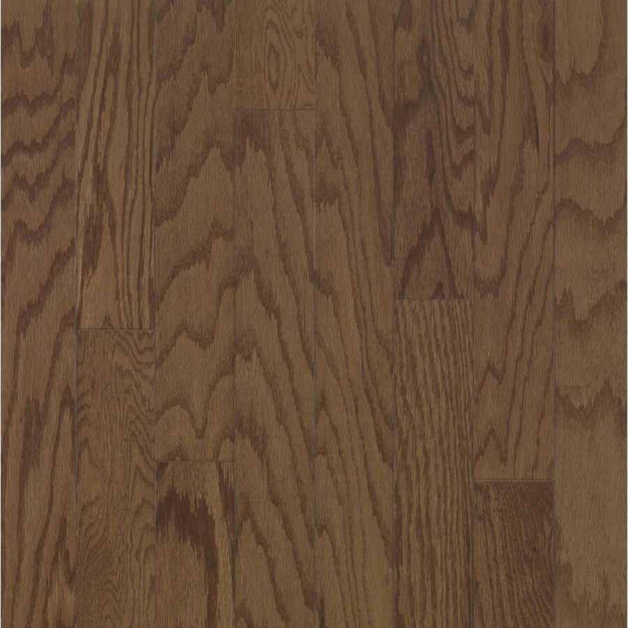 Bruce Locking Smooth Face Saddle Oak Hardwood Flooring (22-sq ft)