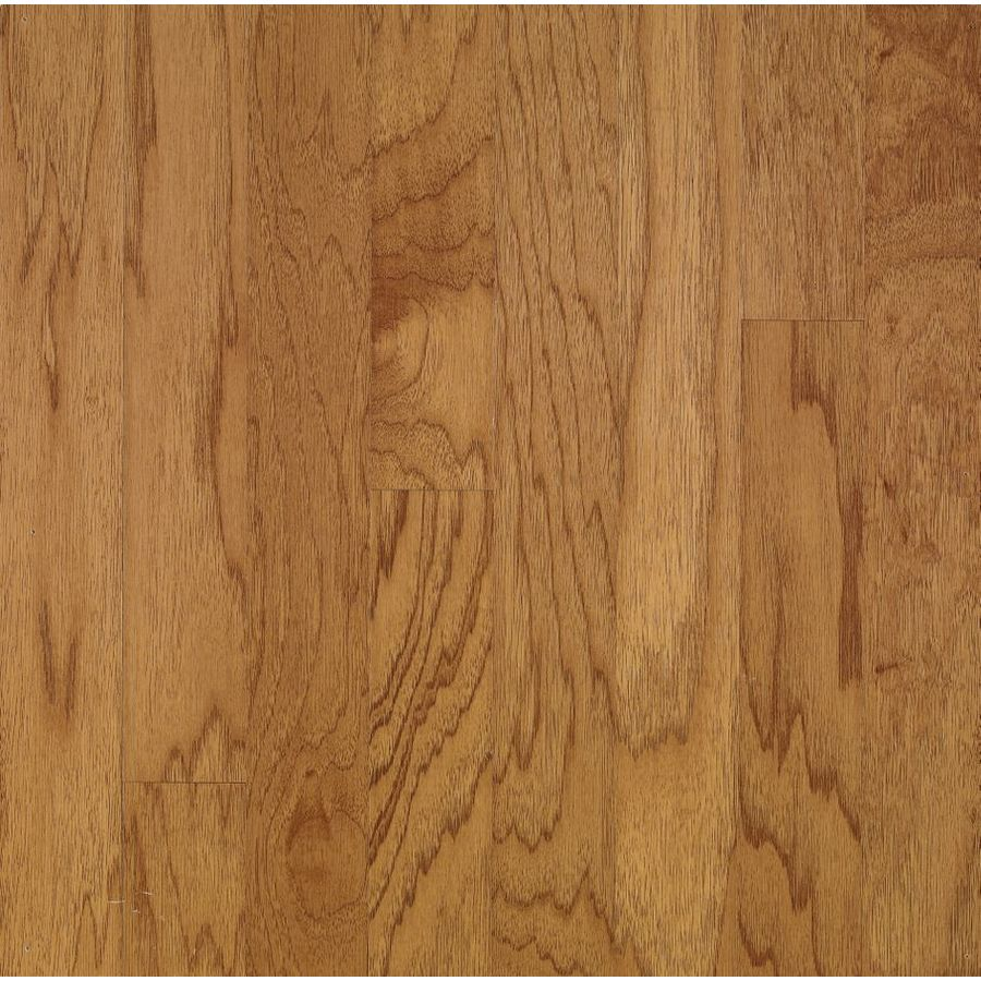 Bruce Locking Smooth Face Golden Spice/Smokey Topaz Hickory Hardwood Flooring (22-sq ft)