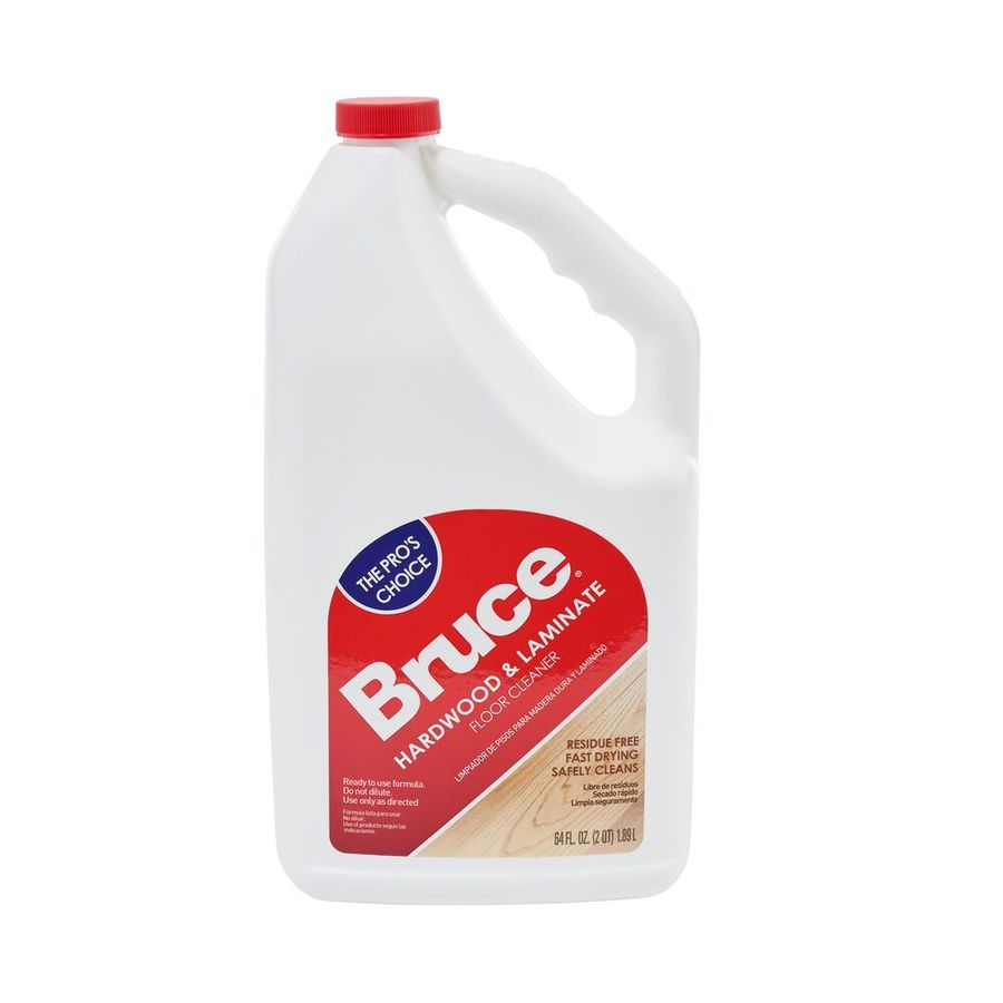 Shop bruce 64 fl oz hardwood floor cleaner at for Flooring products