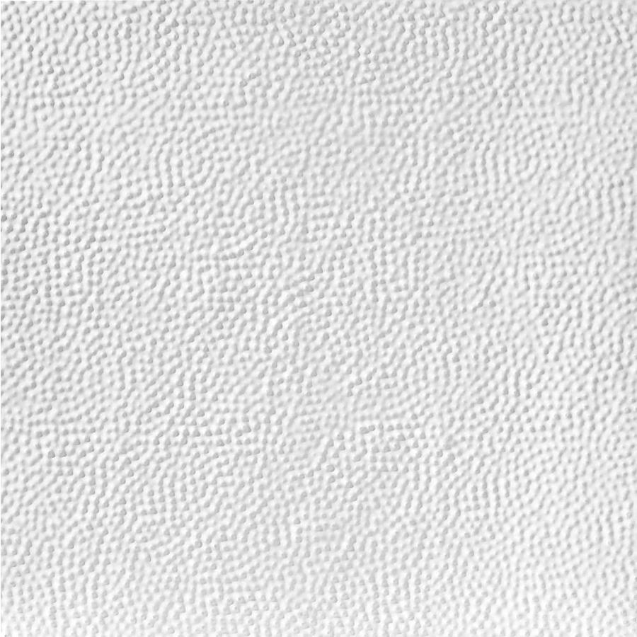 Armstrong Ceilings Metallaire Border Filler White Patterned 15/16-in Drop Panel Ceiling Tiles (Common: 24-in x 24-in; Actual: 23.75-in x 23.75-in)