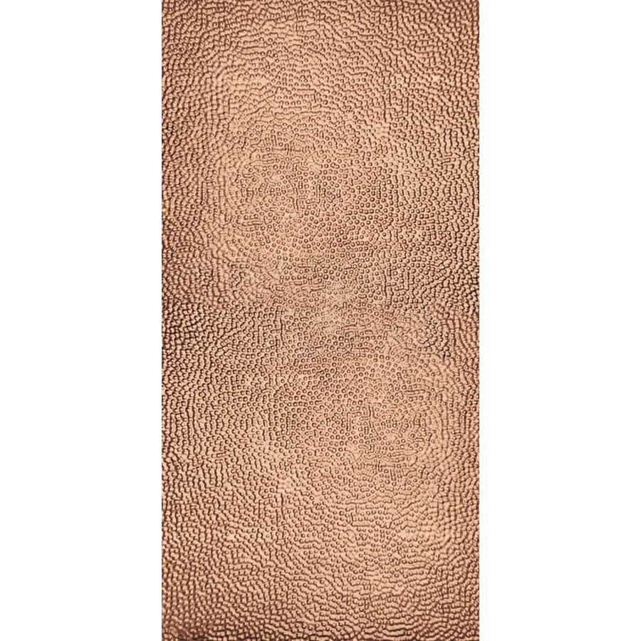 Armstrong Ceilings Metallaire Border Filler Copper Patterned Surface-Mount Panel Ceiling Tiles (Common: 48-in x 24-in; Actual: 48.5-in x 24.5-in)