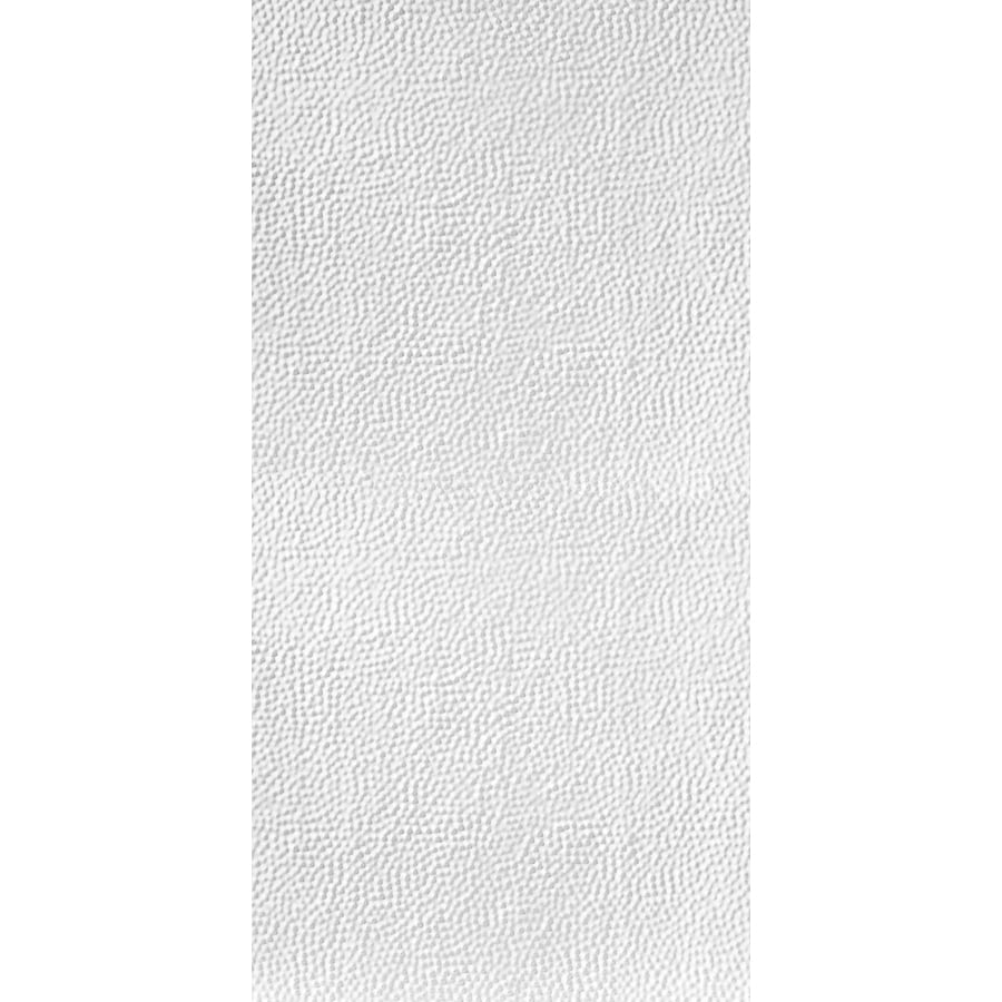 Armstrong Ceilings (Common: 48-in x 24-in; Actual: 48.5-in x 24.5-in) Metallaire Border Filler White Patterned Surface-Mount Panel Ceiling Tiles