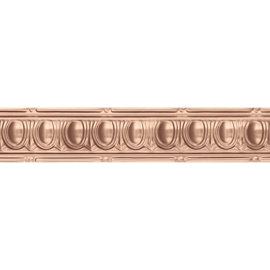 Shop Armstrong Ceilings 4 Ft Copper Metal Crown Ceiling