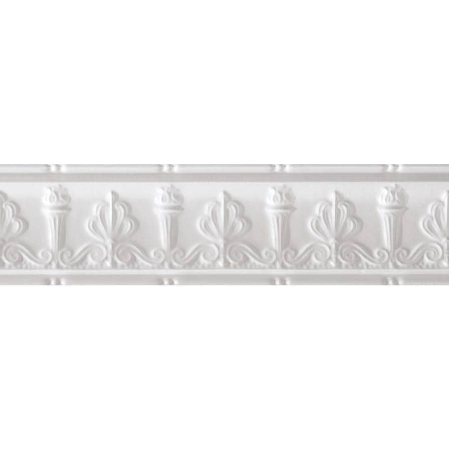 Armstrong Ceilings Metallaire Torch 4-ft White Metal Metallic Crown Ceiling Grid Trim
