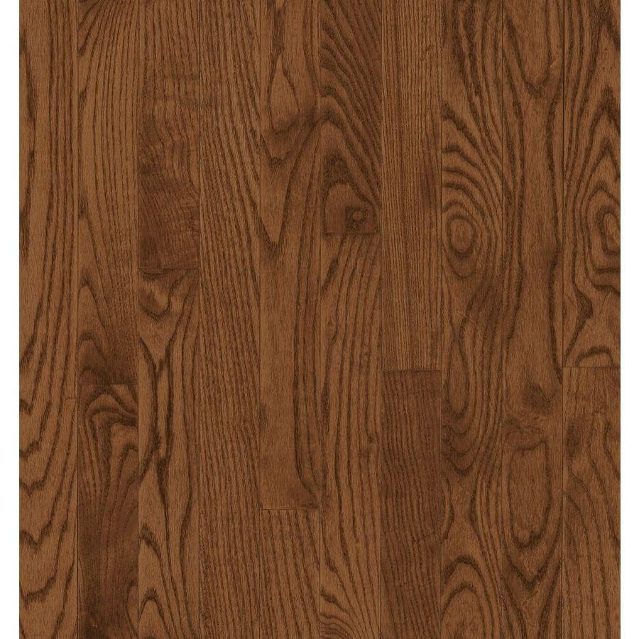 Bruce Barrett Plank 3.25-in W Prefinished Oak Hardwood Flooring (Saddle)