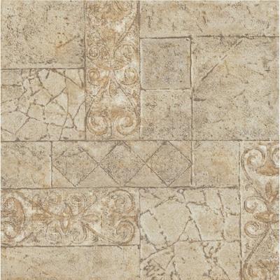 Terraza 1 Piece 12 In X 12 In Toledo Peel And Stick Pattern Vinyl Tile