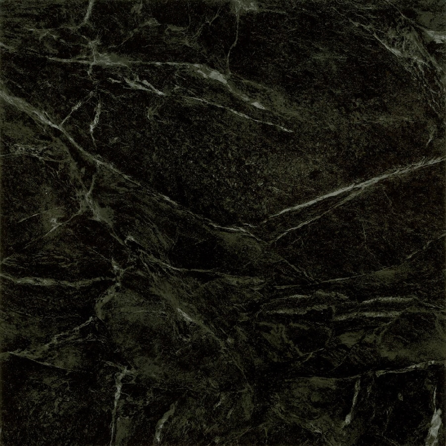 Armstrong Terraza 1-Piece 12-in x 12-in Black Peel-And-Stick Marble Residential Vinyl Tile