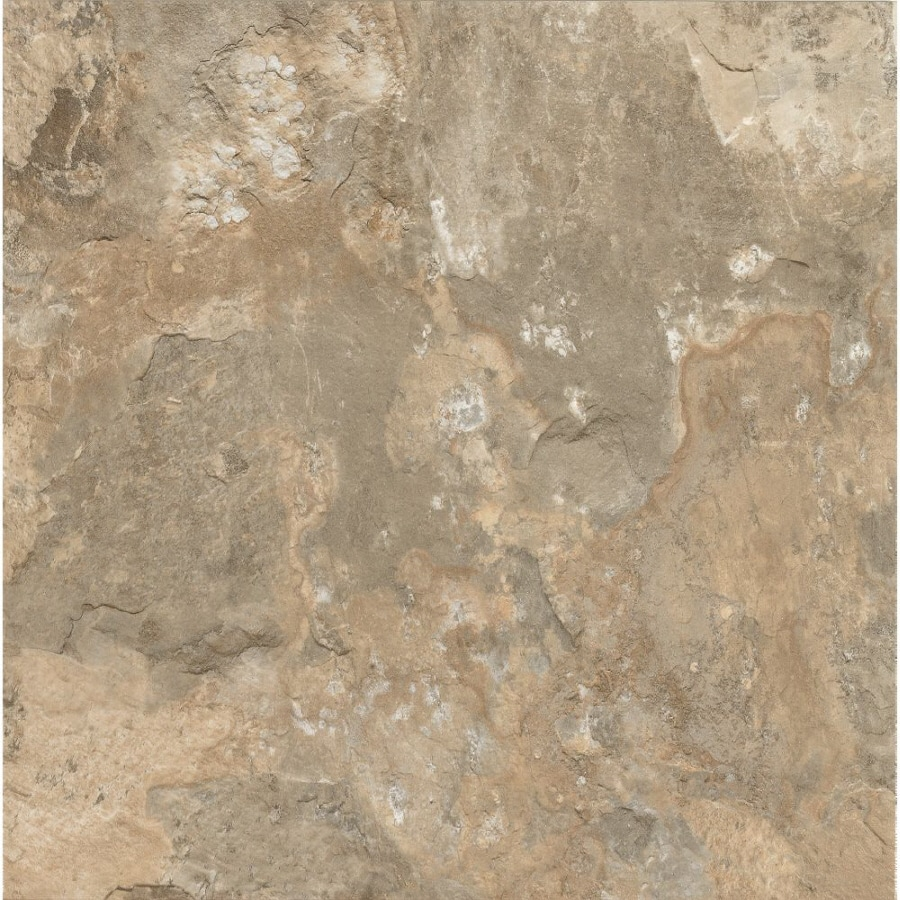 Armstrong Crescendo 1-Piece 12-in x 12-in Groutable Stone Beige Peel-And-Stick Stone Vinyl Tile