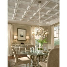 Armstrong Ceilings Common 24 In X 24 In Actual 23 75