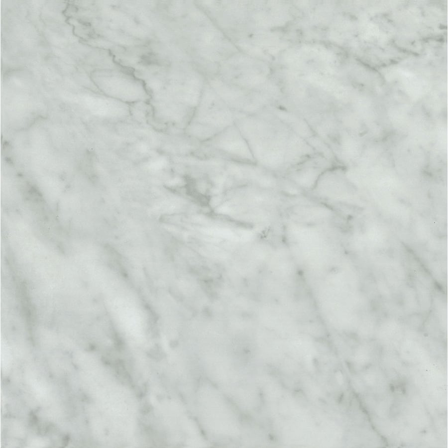 Armstrong Crescendo 1-Piece 12-in x 12-in Groutable Marble Gray Peel-And-Stick Stone Vinyl Tile