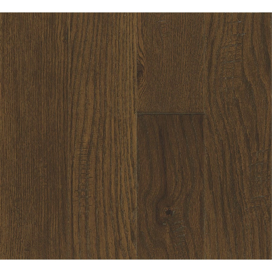 Bruce America's Best Choice 4.8-in W Prefinished Oak Locking Hardwood Flooring (Calico Brown)