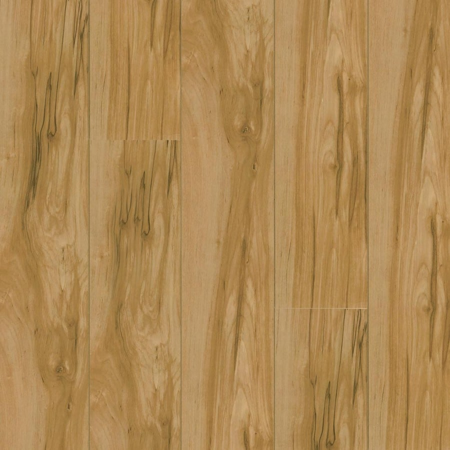 Armstrong Flooring High Gloss 4.92-in W x 3.97-ft L Caramel Birch Wood Plank Laminate Flooring
