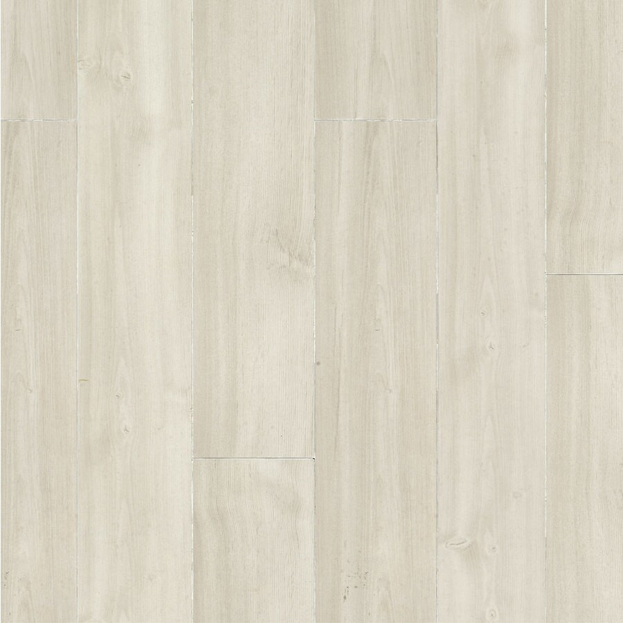 Armstrong Premium Lustre 4.92-in W x 3.97-ft L Blizzard Smooth Commercial Laminate Planks