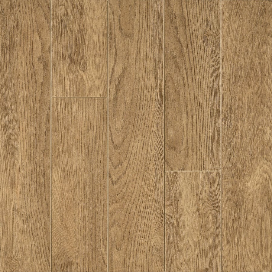 Armstrong Premium 4.92-in W x 3.97-ft L Natural Smooth Commercial Laminate Planks