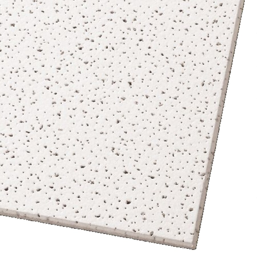 Shop Armstrong Fine Fissured K4c4 40 Pack White Fissured