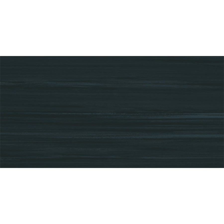 Armstrong Flooring Striations 22-Piece 12-in x 24-in Midnight Glue Striated Commercial VCT Tile