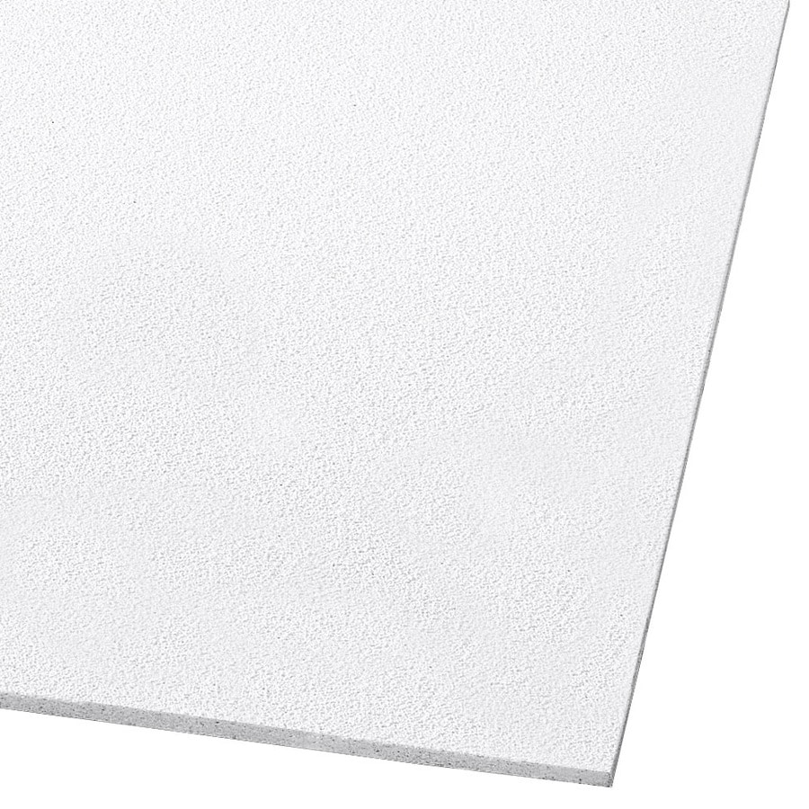 Armstrong Dune 8-Pack White Smooth 15/16-in Drop Acoustic Panel Ceiling Tiles (Common: 20-in x 60-in; Actual: 19.719-in x 59.719-in)