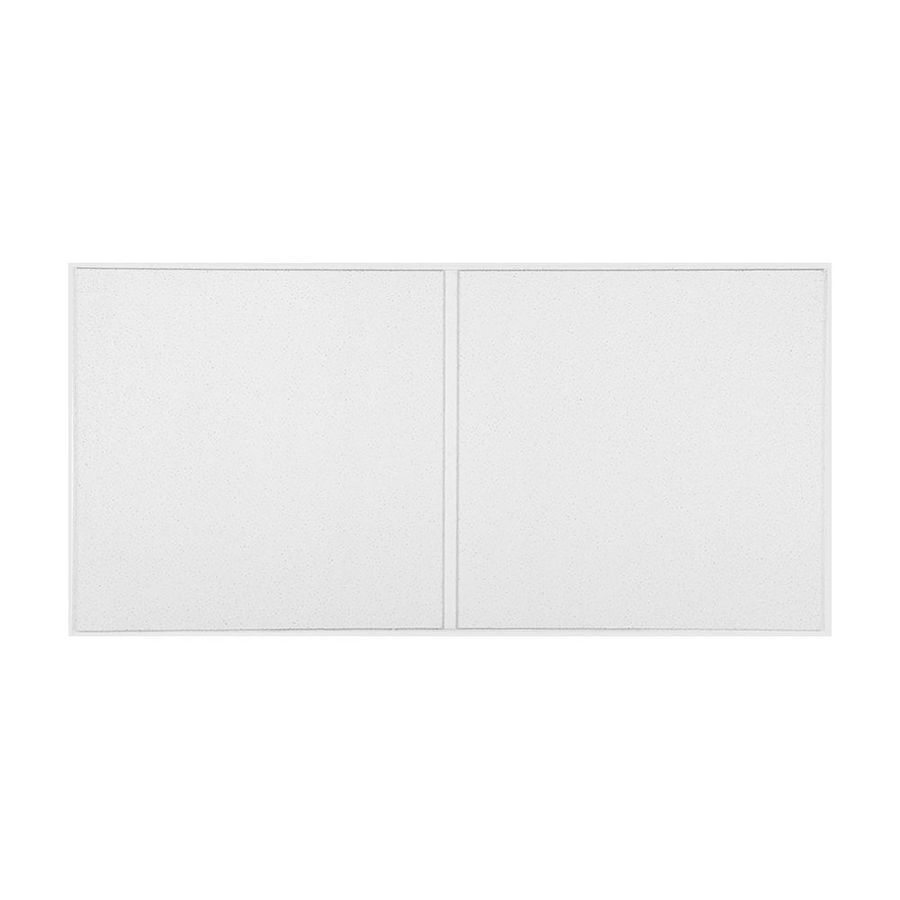 Armstrong Dune 10-Pack White Smooth 15/16-in Drop Acoustic Panel Ceiling Tiles (Common: 48-in x 24-in; Actual: 47.688-in x 23.688-in)