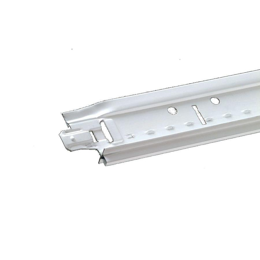 Armstrong Interlude ID White 60-Pack 144-in Galvanized Steel Ceiling Grid Main Beam