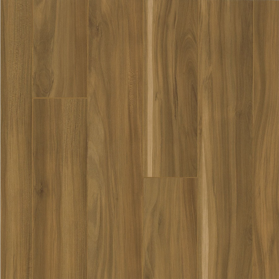 Armstrong Flooring High Gloss 4.92-in W x 3.98-ft L Orchard Tan Wood Plank Laminate Flooring