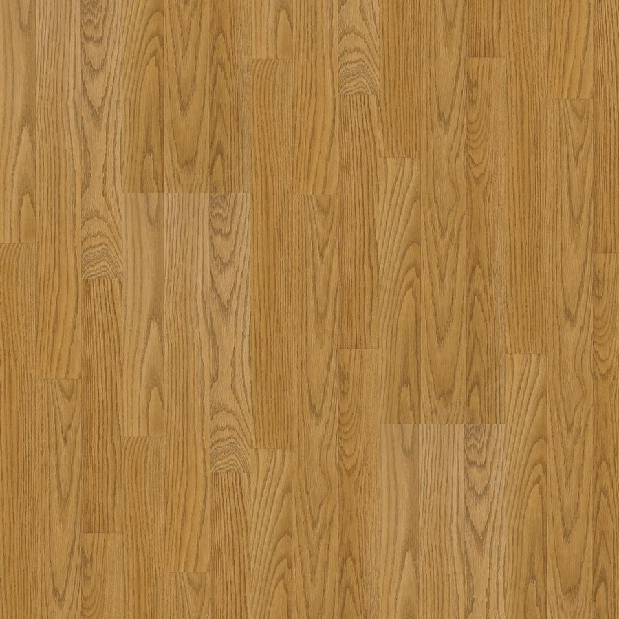 Armstrong 7 6 In W X 4 52 Ft L Honey Oak Smooth Laminate Wood Planks