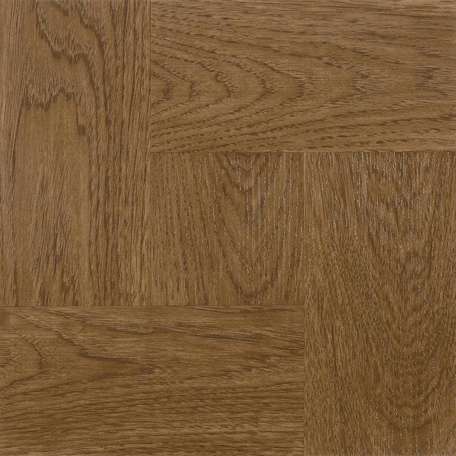 Shop Armstrong Flooring 45 Piece 12 In X 12 In Gunstock Peel And