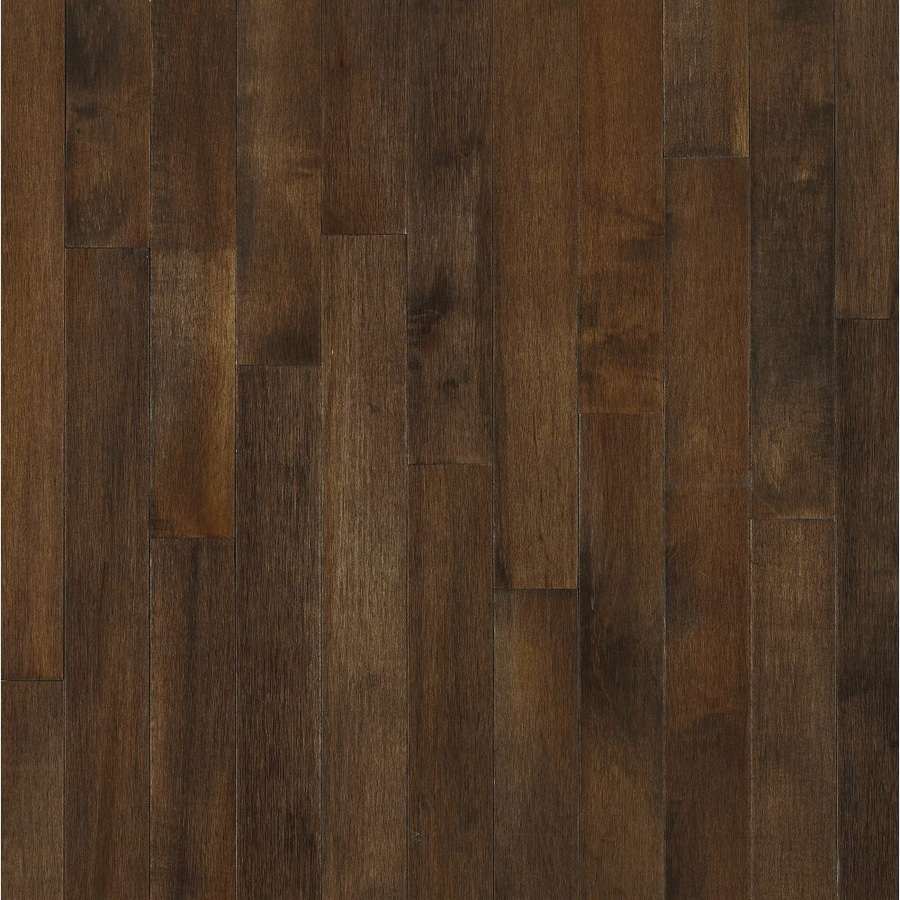 Shop Bruce In W Maple Hardwood Flooring At Lowescom - Lowes click and lock flooring