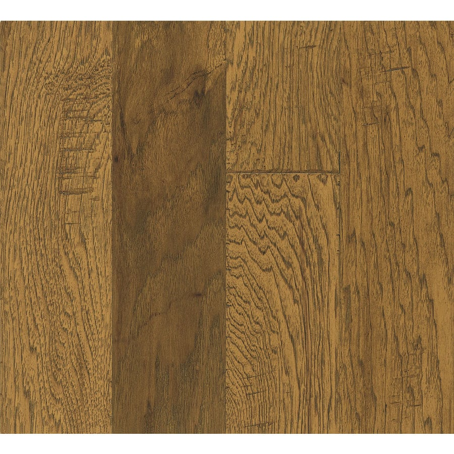 Bruce Hickory Hardwood Flooring Sample (Light Chestnut)