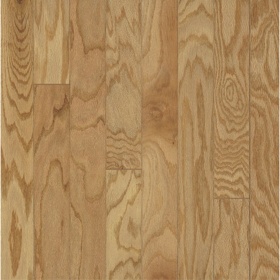 shop bruce america's best choice 3-in w prefinished oak engineered