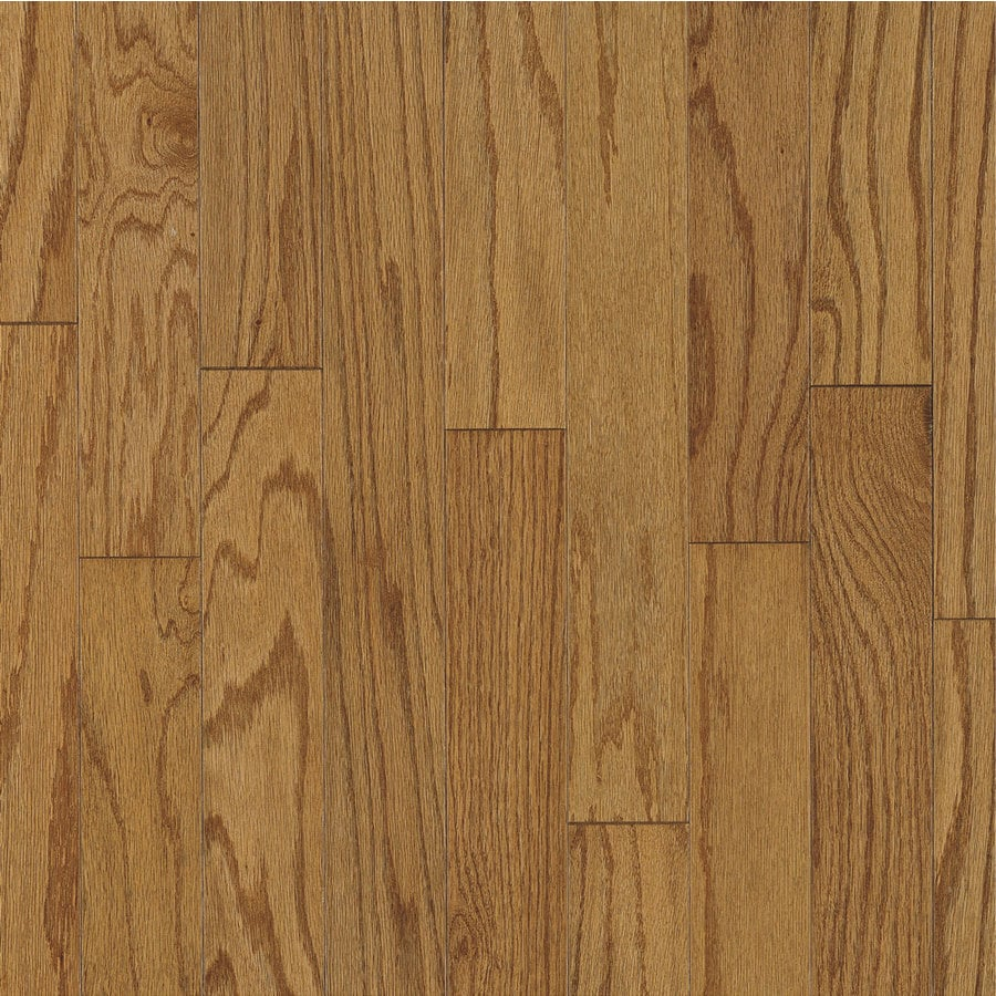 Bruce America S Best Choice 3 In W Prefinished Oak Engineered Hardwood Flooring Erscotch