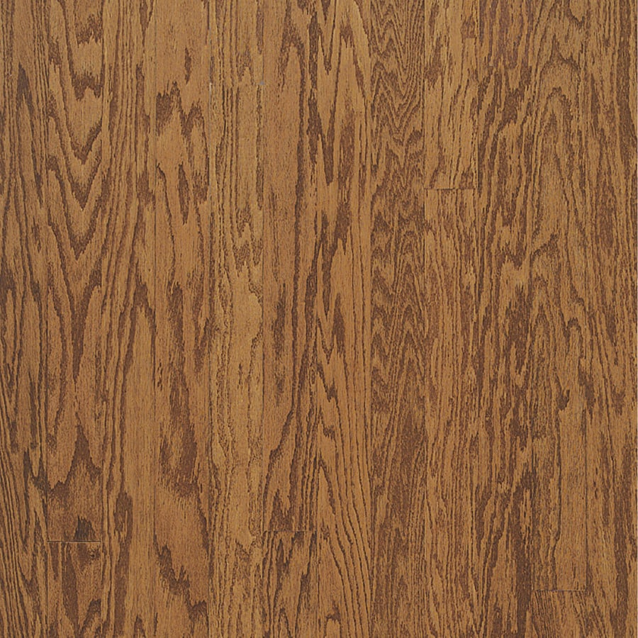 Bruce 5 In W Prefinished Oak Flooring Gunstock At Lowes Com