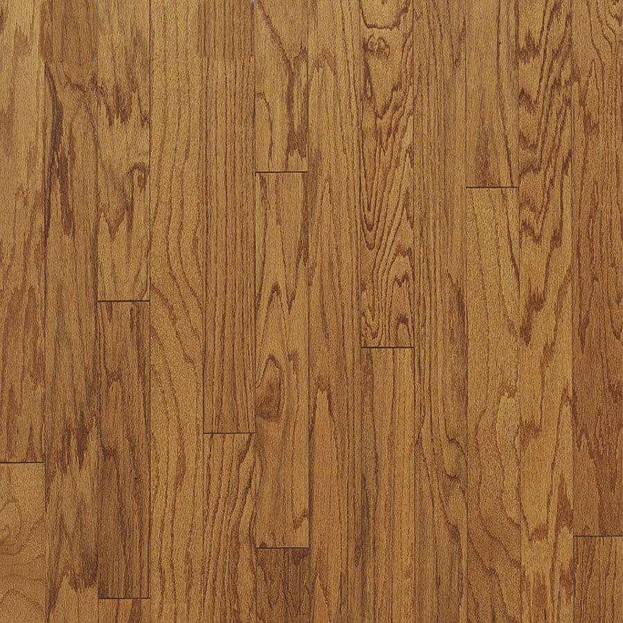 Shop Bruce Locking Hardwood Prefinished Butterscotch Oak