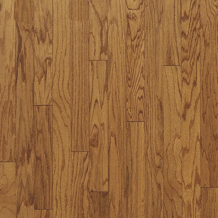 Shop bruce locking hardwood prefinished butterscotch oak for Prefinished oak flooring