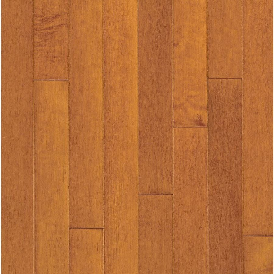 Bruce Glenarden American Exotics 5-in W Prefinished Maple Engineered Hardwood Flooring (Cinnamon)