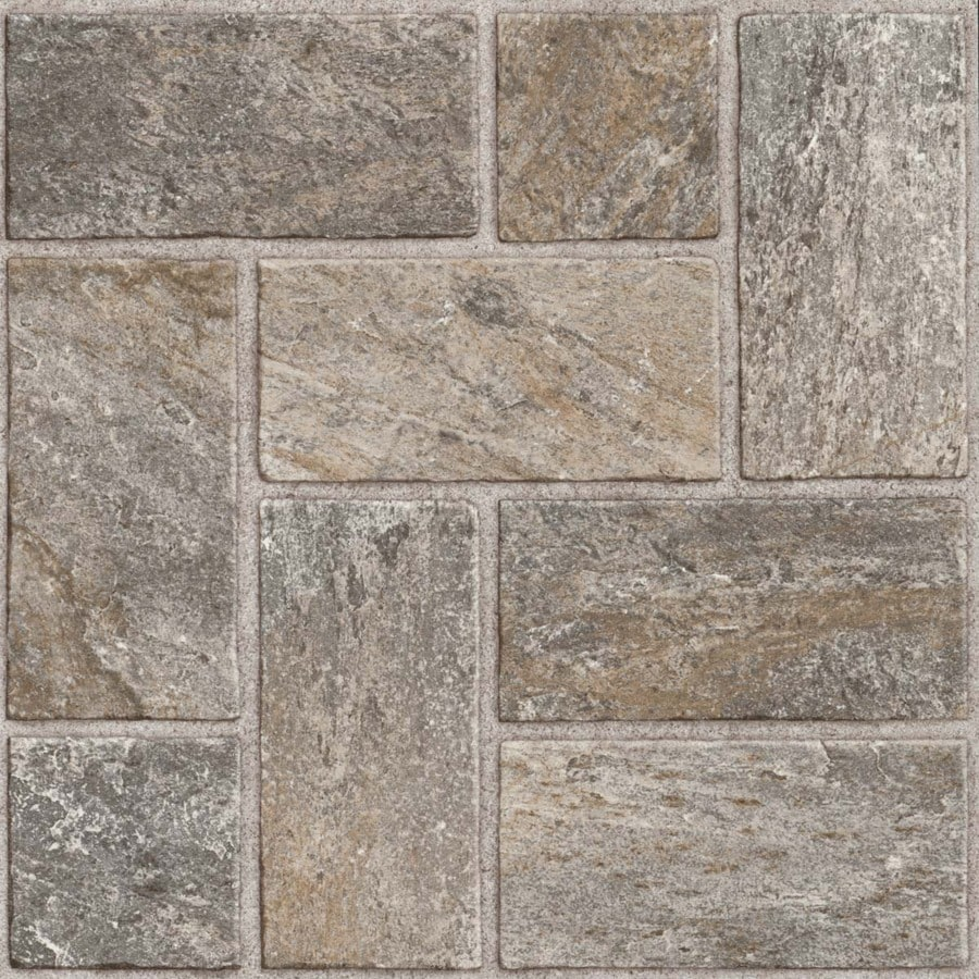 Style Selections 1 Piece 12 In X 12 In Quartz Natural Peel