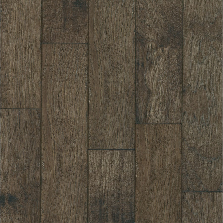 Shop hartco century farm 5 in w prefinished hickory for Hardwood floors hickory
