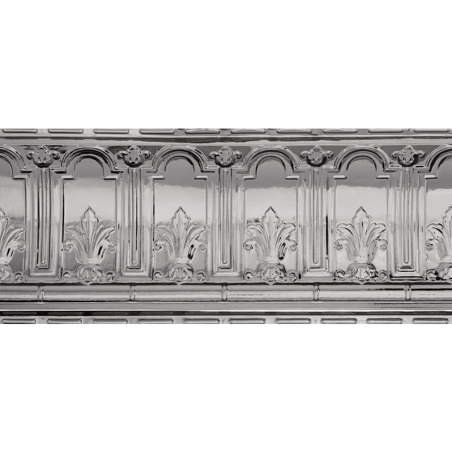 Shop Armstrong Ceilings Metallaire Trefoil Cornice 4 Ft