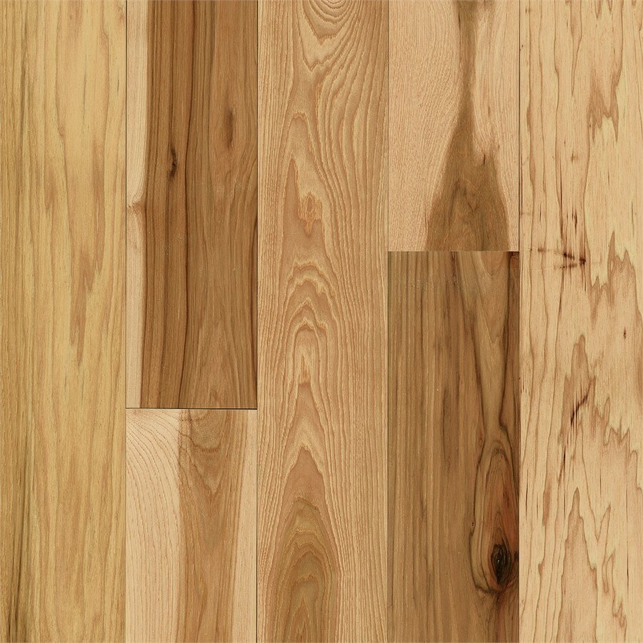 Bruce Hickory Hardwood Flooring Sample (Country Natural)