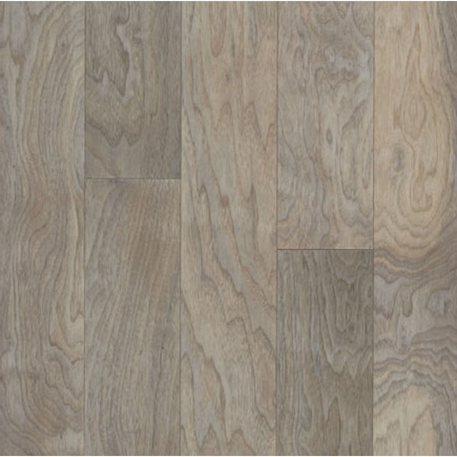 Shop bruce high impact seashell white walnut hardwood for Walnut hardwood flooring