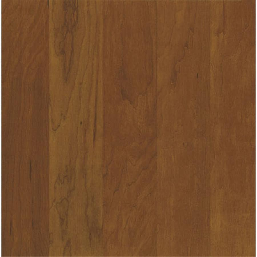 Bruce High Impact 5-in W Prefinished Cherry Locking Hardwood Flooring (Double Chocolate)